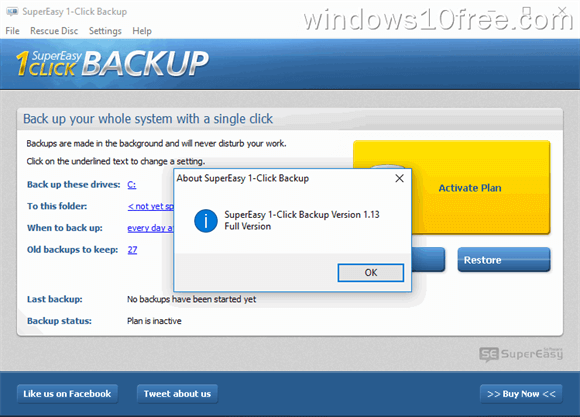 SuperEasy 1-Click Backup 06