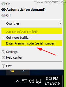 10 Free OkayFreedom VPN Insert Premium Key Start