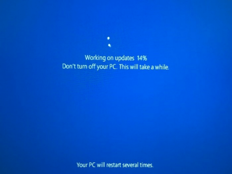 Step 06 Windows 10 Working On Update